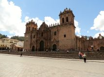 Cathedral in the Plaza de Armas