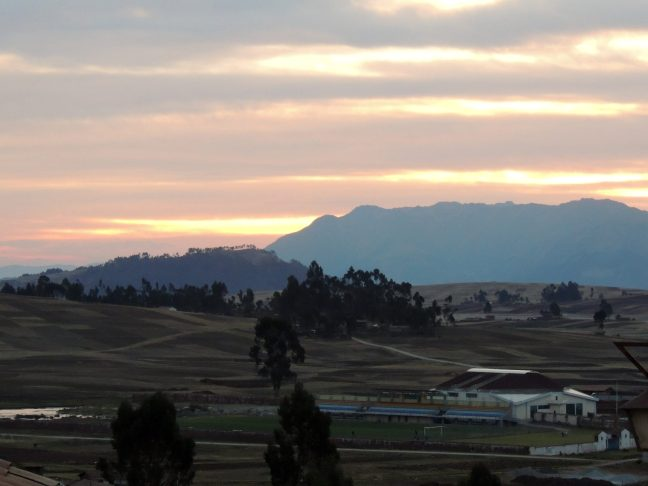 Chinchero Sunset