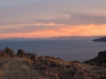 Titicaca Sunset