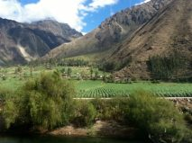 Train to Ollantaytambo