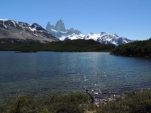 Lago Capri with Fitz Roy in the background.